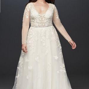 Galina Signature Wedding Gown Size 16